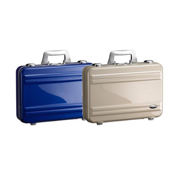 [ゼロハリバートン]ZERO HALLIBURTON ZRA11 スーツケース アタッシュケース ブルー/ポリッシュゴールド