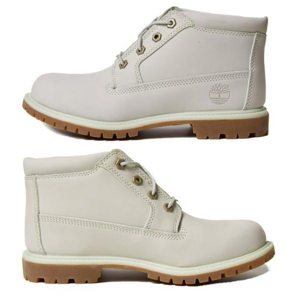 Timberland ティンバーランド NELLIE CHUKKA DOUBLE WATERPROOF BOOT(ネリーチャッカダブルウォータープルーフブーツ) A1NDK ライトブルー 靴|rock|02
