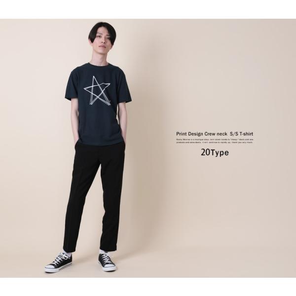 Tシャツ メンズ 半袖 プリント クルーネック ロゴ 英字 コットン 綿 ゆうパケット送料無料|rockymonroe|18