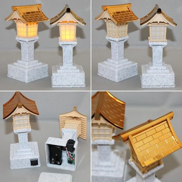 LED春日灯篭 電池式 1対 神棚/神具に|roco|02