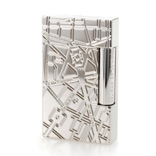 ST デュポン ライター ライン2 016275 パリ パラディウム シルバーカラー 国内正規品 LINE 2 エス・テー・デュポン 高級 人気 ブランド