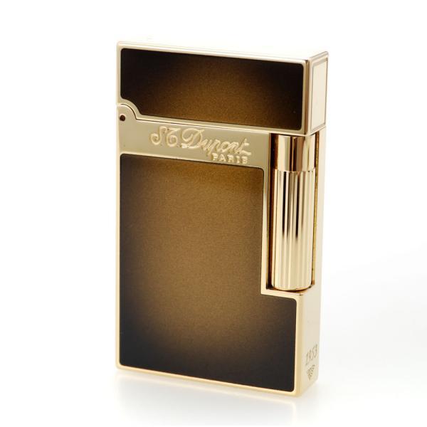 ST デュポン ライター ライン2 016304 アトリエ サンバースト ブロンズナチュラルラッカー&イエローゴールド 国内正規品 高級 ブランド