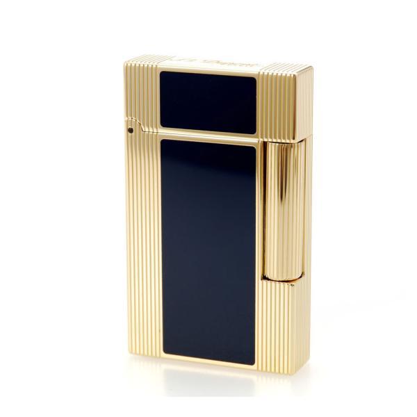 ST デュポン ライター ライン2 016381 ウィンザー ナチュラルブルーラッカー&イエローゴールド 国内正規品 LINE 2 高級 人気 ブランド