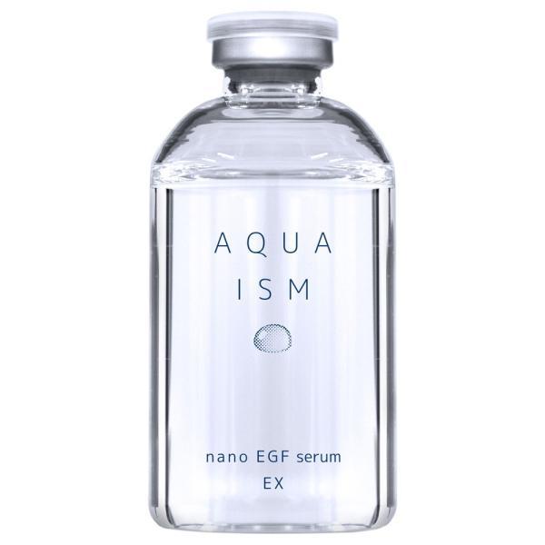 【ナノEGFセラム(AQUA ISM/アクアイズム)】EGF原液美容液・ヒアルロン酸・コラーゲン・エラスチン・エイジングケア|rocoslife