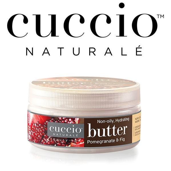 【CUCCIO Naturale】バターブレンド・ミニ42g<ザクロ&イチジク>ボディケア・保湿・マッサージクリーム|rocoslife