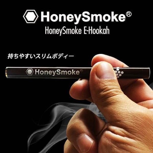 【ハニースモーク/Honey Smoke E-Hookah(木目調・メンソール)】★6本セット★電子タバコ・禁煙・使い捨て|rocoslife|02