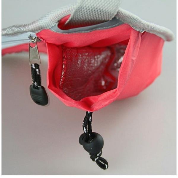 ジョギング や ウォーキング   ウエストポーチ ショルダーポーチ 伸縮性 小物入れ ボトルクーラーポケット |rodend|06