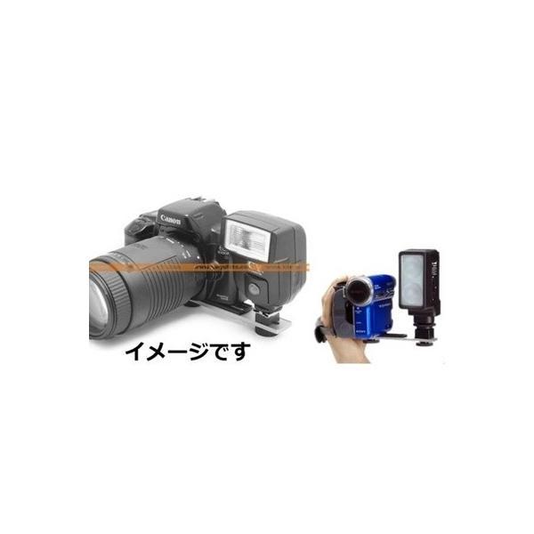 カメラ一眼レフ平行スライダー LED/ストロボ/ビデオなど