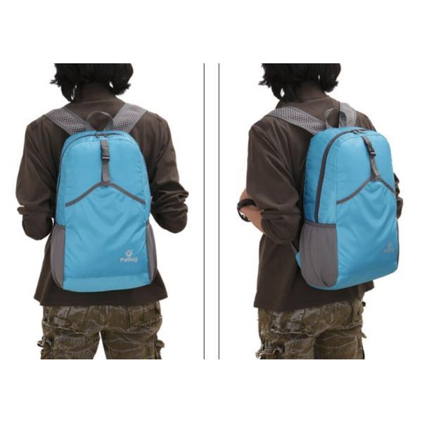 撥水加工 折り畳み アウトドアリュック  旅行 携帯便利  リュックバッグ 30L 軽量設計|rodend|04