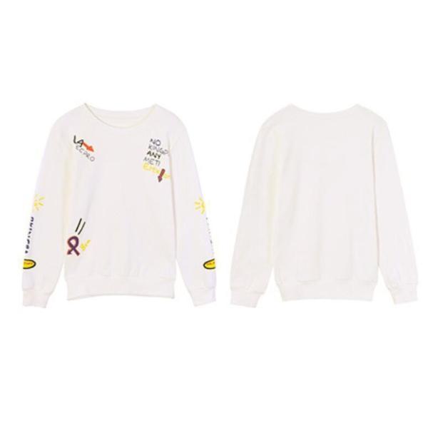 可愛い レディース  ロングTシャツ  トップス レディース  秋新作 ロングカジュアル 長袖 Tシャツ|rodend|09