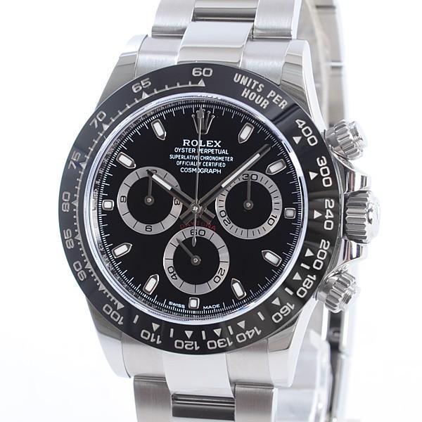 official photos f9140 37e76 ロレックス メンズ腕時計 デイトナ 116500LN ステンレスxセラミック 未使用品 1363590_元町本店