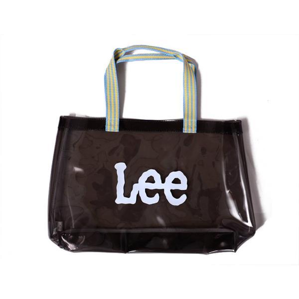 LEE リー バッグ トートバッグ レディース メンズ キッズ 大きめ 肩掛け ビニールバッグ 透明 カラフル ネオンカラー プール 海 海水浴 LA0346-17-53-59-61