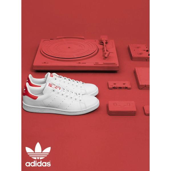 adidas ORIGINALS アディダス オリジナルス スニーカー スタンスミス STAN SMITH メンズ レディース 白 ホワイト 靴 カジュアル ランニング シューズ M20326|rodeobros