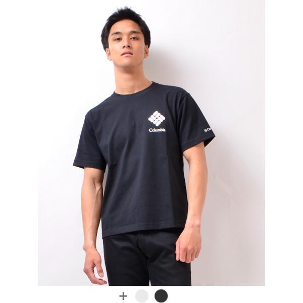 ColumbiaコロンビアTシャツメンズレディース半袖ブランド無地SunshineCreekS/SフェスUVカットPM0178