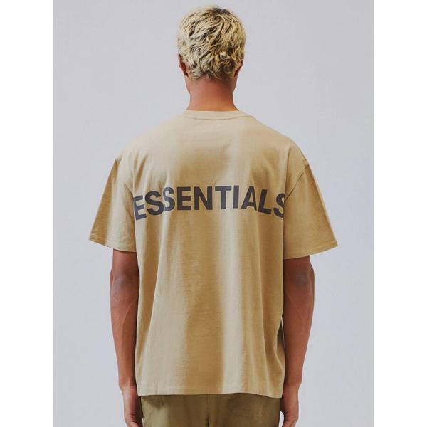 Fear of God essentials Tシャツ メンズ レディース 半袖 FOG ESSENTIALS フィアオブゴッド エフオージー エッセンシャルズ リフレクター REFLECTIVE-SS-BE