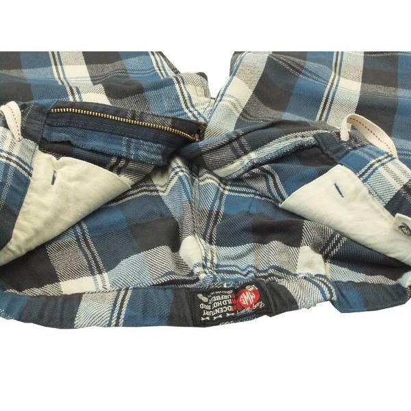 MWS ショーツ ネルチェック ショートパンツ MWS-1511304 ブルー 新品|rodeomatubara|05