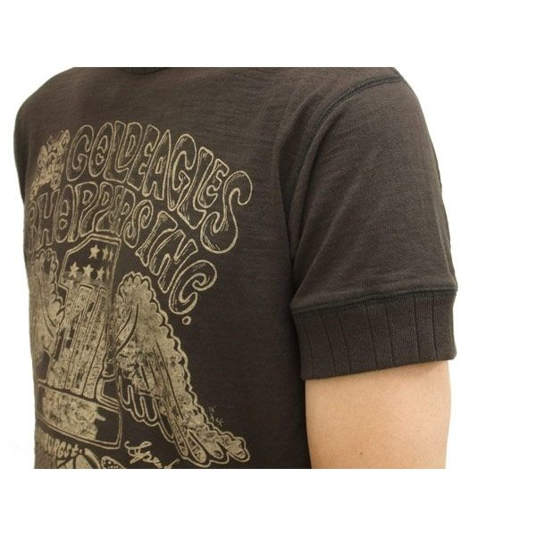 MWS 半袖Tシャツ アメリカン バイカーズ  ゴールドイーグルス 1513701 スミクロ 3L 新品|rodeomatubara|04