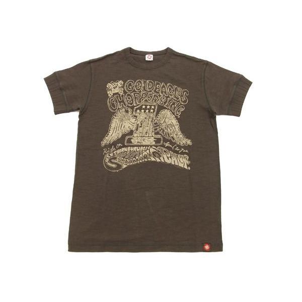 MWS 半袖Tシャツ アメリカン バイカーズ  ゴールドイーグルス 1513701 スミクロ 3L 新品|rodeomatubara|06
