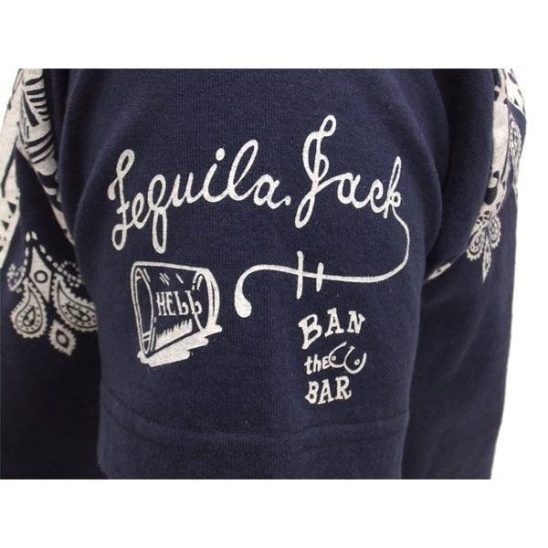 MWS 半袖Tシャツ スカル バンダナパネル 1513702 紺 新品 rodeomatubara 05