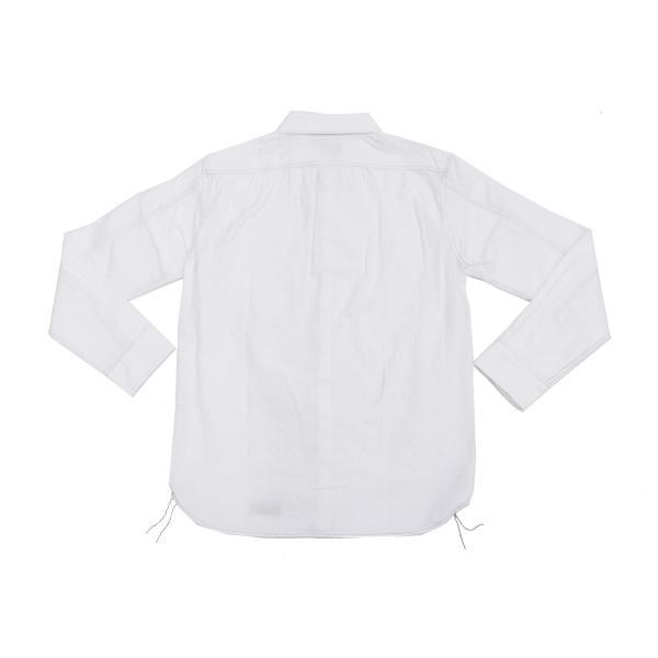 フェローズ クラシック ワークシャツ Pherrows フロンティアシリーズ 無地 長袖シャツ 20S-100W 白 新品 rodeomatubara 08