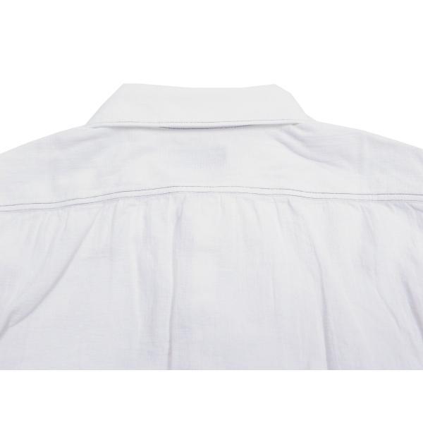 フェローズ クラシック ワークシャツ Pherrows フロンティアシリーズ 無地 長袖シャツ 20S-100W 白 新品 rodeomatubara 09