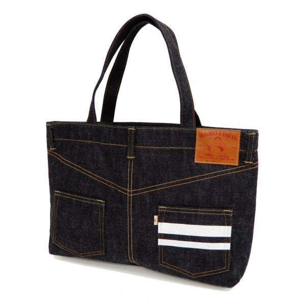 桃太郎ジーンズ 出陣デニム トートバッグ B-11-S デニムパンツデザイン 鞄 新品 rodeomatubara 06