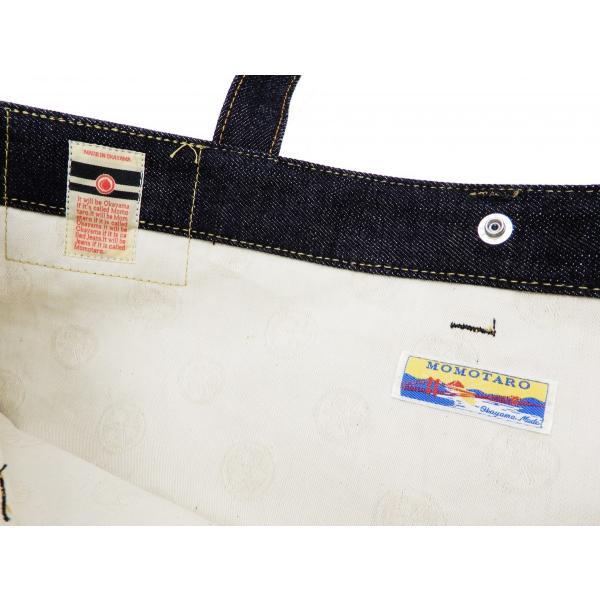 桃太郎ジーンズ 出陣デニム トートバッグ B-11-S デニムパンツデザイン 鞄 新品 rodeomatubara 09