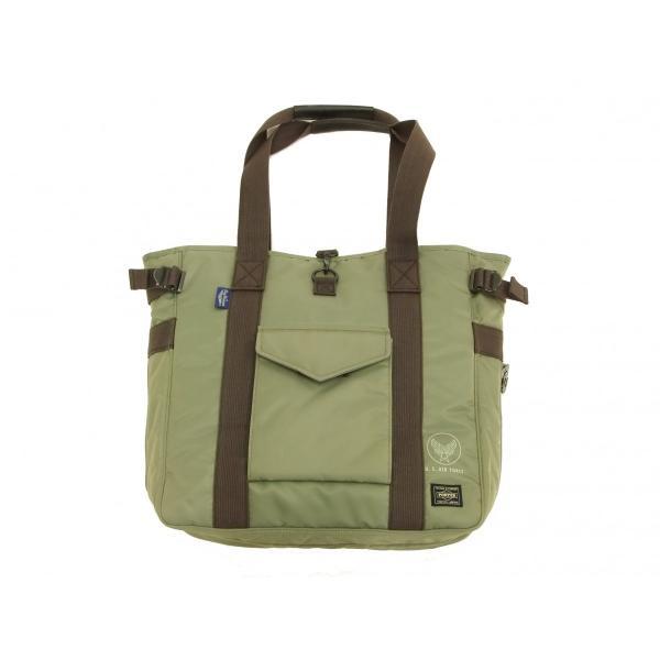 バズリクソンズ × ポーター BR02532 ナイロン トートバッグ メンズ カジュアル バッグ 鞄 セージグリーン 新品|rodeomatubara|03