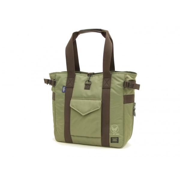 バズリクソンズ × ポーター BR02532 ナイロン トートバッグ メンズ カジュアル バッグ 鞄 セージグリーン 新品|rodeomatubara|04