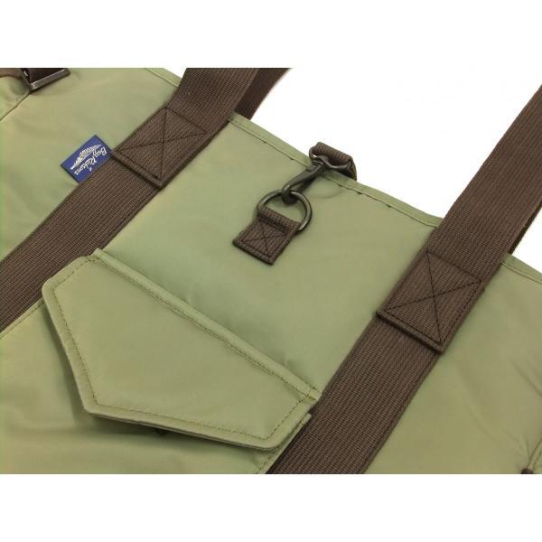 バズリクソンズ × ポーター BR02532 ナイロン トートバッグ メンズ カジュアル バッグ 鞄 セージグリーン 新品|rodeomatubara|05