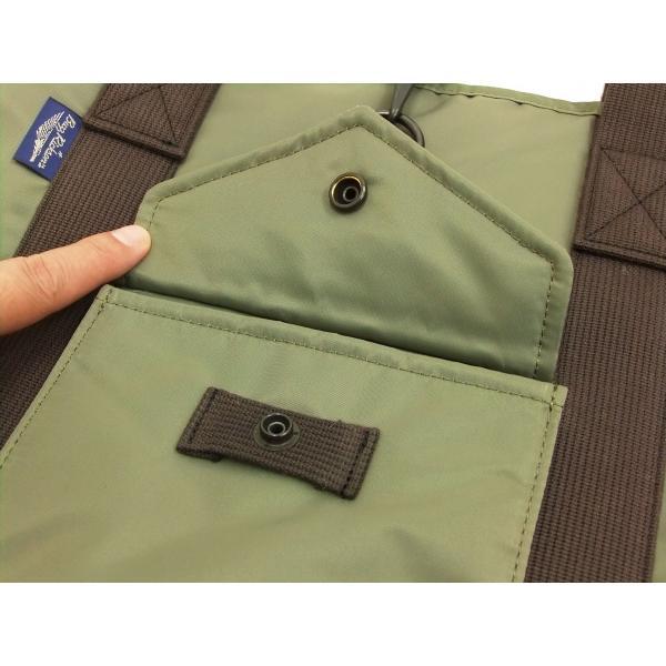 バズリクソンズ × ポーター BR02532 ナイロン トートバッグ メンズ カジュアル バッグ 鞄 セージグリーン 新品|rodeomatubara|06