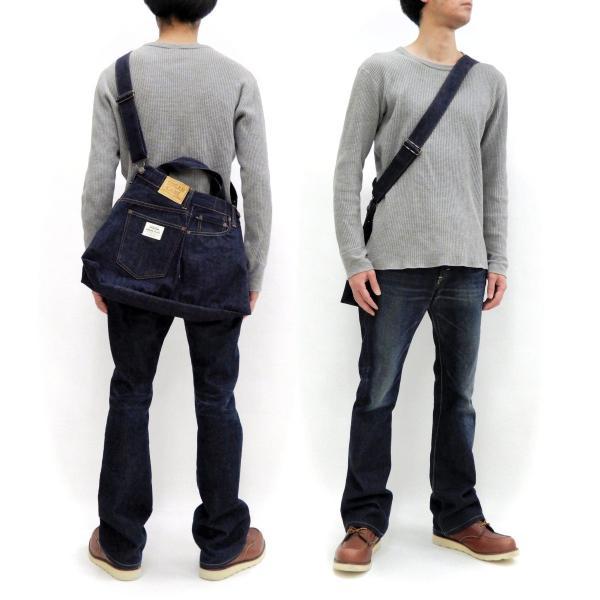 シュガーケーン バッグ SC02634 5ポケット リメイクデニム 2WAY トート×ショルダーバッグ 鞄 新品|rodeomatubara|02