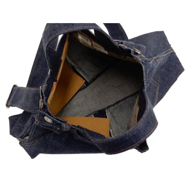 シュガーケーン バッグ SC02634 5ポケット リメイクデニム 2WAY トート×ショルダーバッグ 鞄 新品|rodeomatubara|12