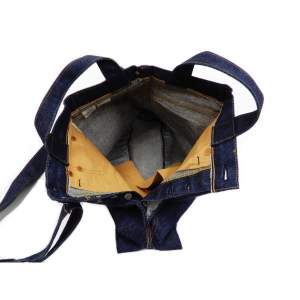 シュガーケーン バッグ SC02634 5ポケット リメイクデニム 2WAY トート×ショルダーバッグ 鞄 新品|rodeomatubara|13