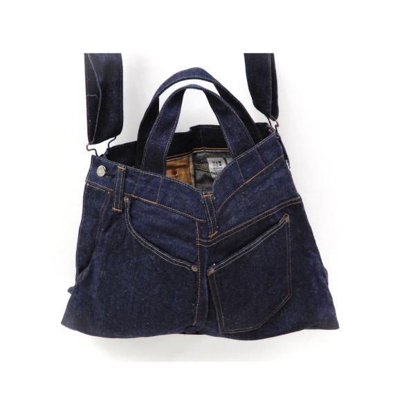 シュガーケーン バッグ SC02634 5ポケット リメイクデニム 2WAY トート×ショルダーバッグ 鞄 新品|rodeomatubara|17