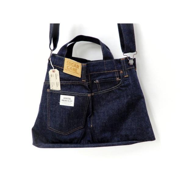 シュガーケーン バッグ SC02634 5ポケット リメイクデニム 2WAY トート×ショルダーバッグ 鞄 新品|rodeomatubara|19