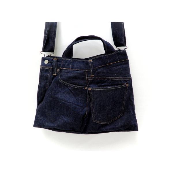 シュガーケーン バッグ SC02634 5ポケット リメイクデニム 2WAY トート×ショルダーバッグ 鞄 新品|rodeomatubara|20