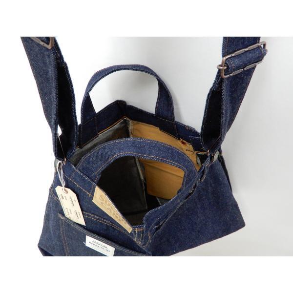 シュガーケーン バッグ SC02634 5ポケット リメイクデニム 2WAY トート×ショルダーバッグ 鞄 新品|rodeomatubara|21