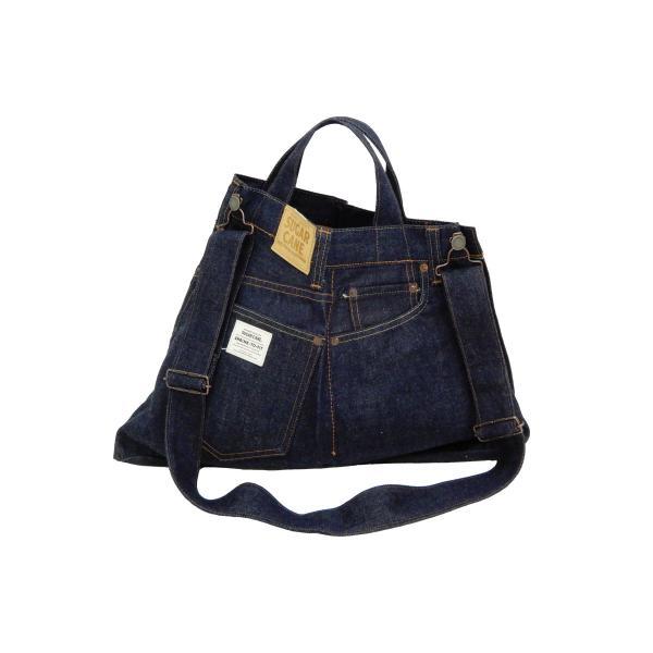 シュガーケーン バッグ SC02634 5ポケット リメイクデニム 2WAY トート×ショルダーバッグ 鞄 新品|rodeomatubara|04