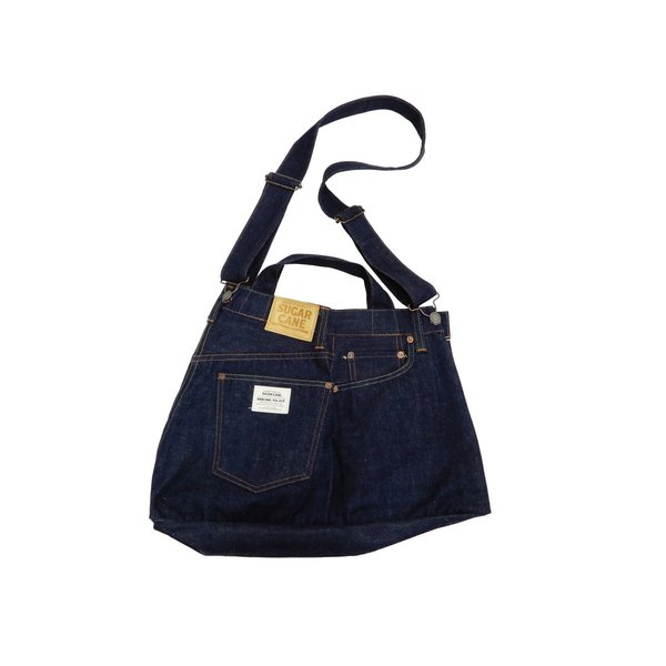シュガーケーン バッグ SC02634 5ポケット リメイクデニム 2WAY トート×ショルダーバッグ 鞄 新品|rodeomatubara|05