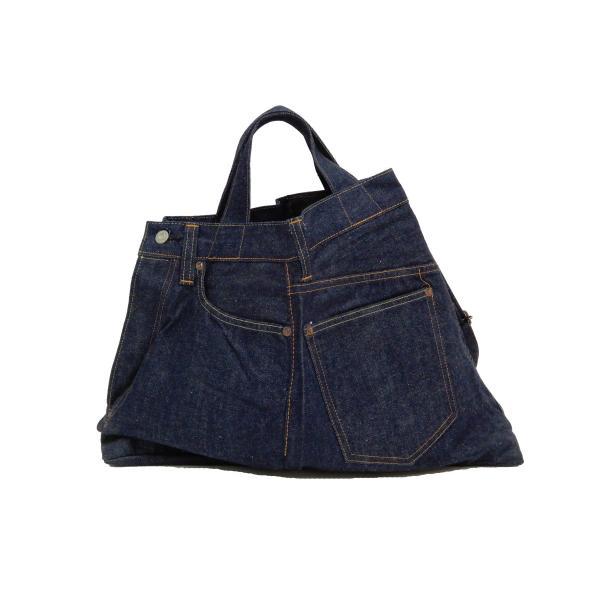 シュガーケーン バッグ SC02634 5ポケット リメイクデニム 2WAY トート×ショルダーバッグ 鞄 新品|rodeomatubara|06
