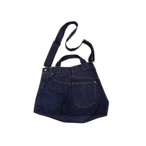 シュガーケーン バッグ SC02634 5ポケット リメイクデニム 2WAY トート×ショルダーバッグ 鞄 新品|rodeomatubara|07