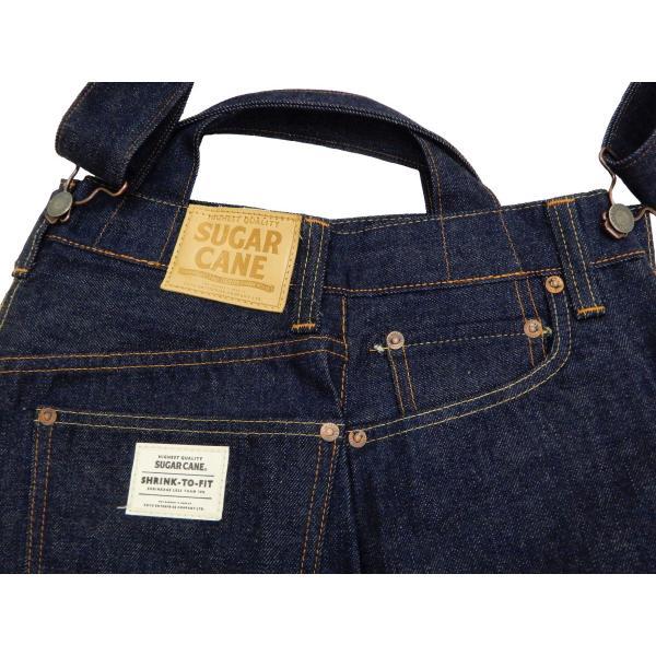 シュガーケーン バッグ SC02634 5ポケット リメイクデニム 2WAY トート×ショルダーバッグ 鞄 新品|rodeomatubara|10