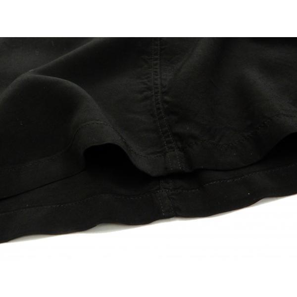 スタイルアイズ ボウリングシャツ SE38073 東洋 半袖シャツ 無地 2トーン ボーリングシャツ ブラック 新品 rodeomatubara 09