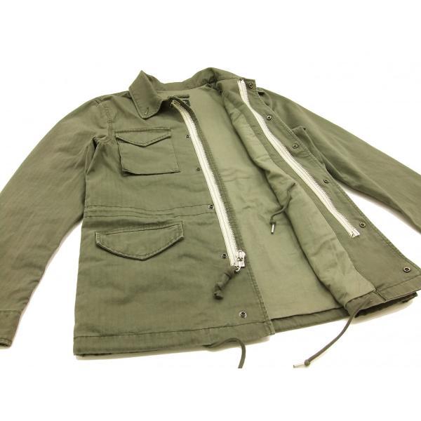 アルファ インダストリーズ M-51 フィールドコート ALPHA ミリタリージャケット TA0626 陸戦用ジャケット 新品|rodeomatubara|08