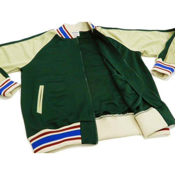 テッドマン ジャージ TEDMAN トラッカージャケット DRAGON LRD エフ商会 TJS-2900 グリーン 新品|rodeomatubara|05