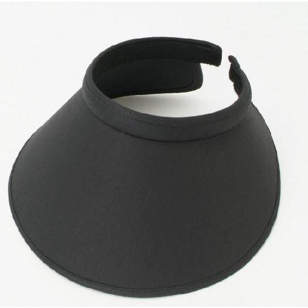 即納品 紫外線防止 サンバイザー UVカットキャップ レディース 夏に必需品 シンプル バイザー|romanbag|02