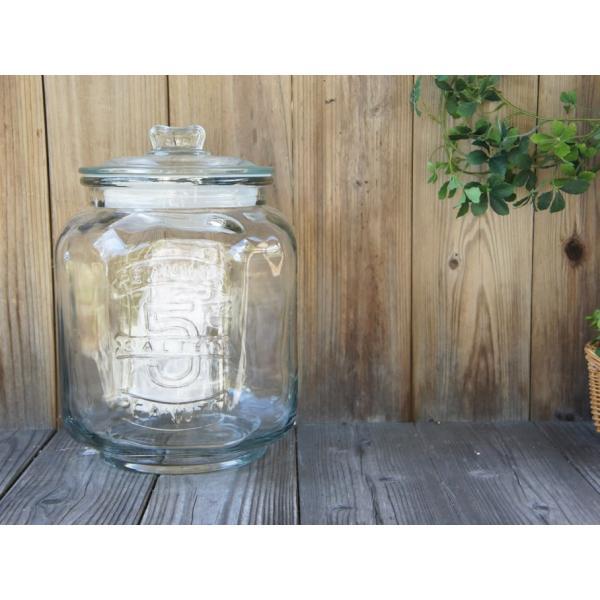 ダルトン グラスクッキージャー ガラス保存容器 密閉容器 米びつ ライスストッカー