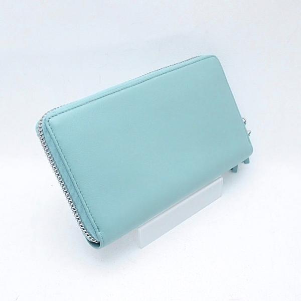 バレンシアガ 長財布 長財布 ペーパー 381226 レザー ライトブルー 中古 新入荷 おすすめ OBB0252|ronde|03