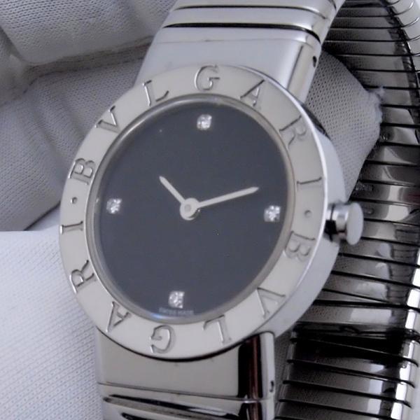 ブルガリ BVLGARI レディース時計 ブルガリ ブルガリ BB262TS SS(ステンレス)/ダイヤ ブラック文字盤 中古 新入荷 おすすめ BV0088 ronde 06